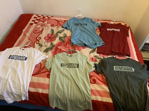 Size Large Gym shark and Nike clothes for Sale in Fresno, CA