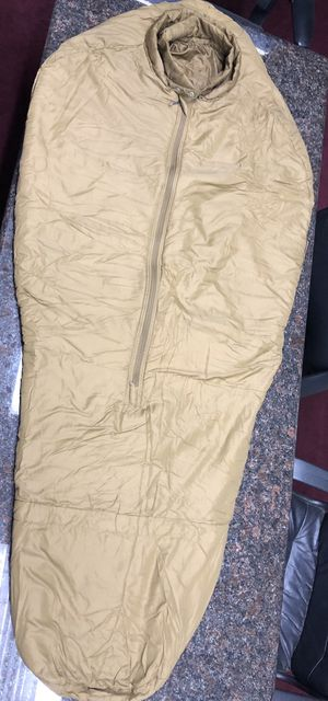 USMC 3 Seasons Sleep System Sleeping Bag Only Coyote Regular for Sale in Stockton, CA