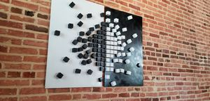 Wooden Wall Art, 3D Art, Modern Sculpture, for Sale in Bethesda, MD