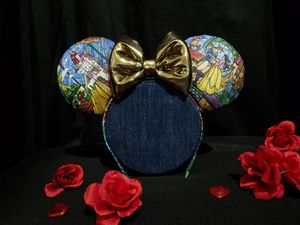 Beauty and the Beast inspired Minnie Ears for Sale in Hialeah, FL