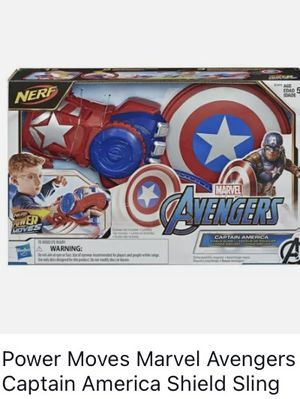 Power Moves Captain Avenger Shield for Sale in Waterbury, CT