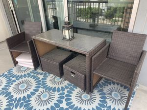 Patio furniture set for Sale in Atlanta, GA