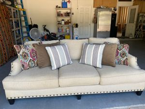 Down filled couch for Sale in Cypress, TX
