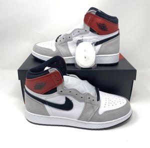 """Jordan 1 Retro """"Smoke Grey"""" Authentic - SZ 7Y for Sale in Arlington, TX"""