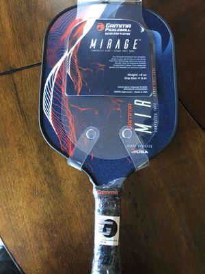 GAMMA Mirage Pickleball Paddle Red/White/Blue Weight : 8 Oz. Grip Size: 4 1/8 inch NEW for Sale in San Antonio, TX