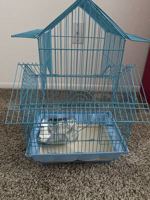 Small Baby blue Bird cage for Sale in Redford Charter Township, MI