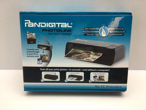 Pandigital PhotoLink One Touch Photo Pictures 4x6 Scanner PANSCN02 for Sale in Roseville, CA