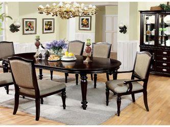 Dark Walnut Elegant Dinning Table for Sale in Fresno,  CA