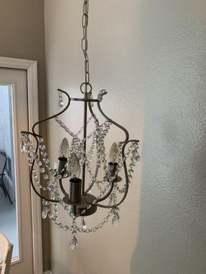 Small Silver Chandelier for Sale in Lutz, FL