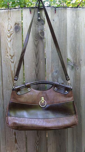 Rina Rich brown leather handbag for Sale in Marquette, MI