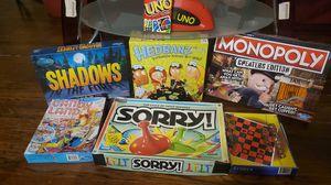 7 Family Board Games 🎲 for Sale in Oklahoma City, OK
