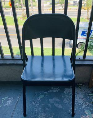 Metal folding chair for Sale in Norwalk, CA
