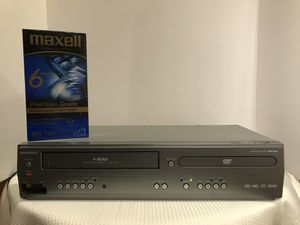 Magnavox MWD2206 DVD VCR Combo Player VHS Recorder No Remote Tested Working for Sale in Hoffman Estates, IL