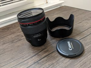 Canon 35mm f/1.4 L Lens for Sale in Queens, NY