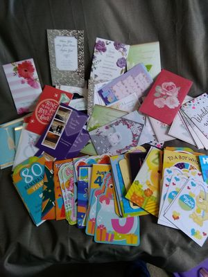 Lot of 93 Special occasion cards for Sale in Stafford Courthouse, VA