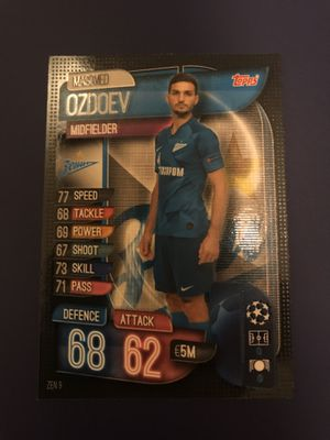 Topps Match Attax Soccer card for Sale in Los Angeles, CA