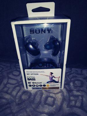 Sony WF-SP700N True Wireless Noise Canceling BT Earbuds for Sale in San Diego, CA
