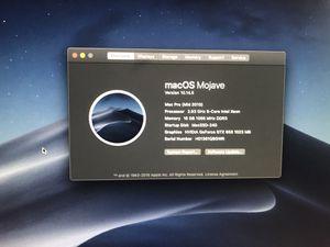 Mac Pro 2010 hex core for Sale in Phoenix, AZ