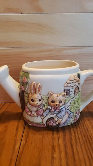 Ceramic Watercan / Flower Pot for Sale in Parma Heights, OH