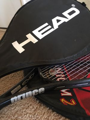3 Tennis Rackets for Sale for Sale in Scottsdale, AZ