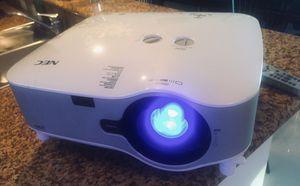 White NEC Projector w/ remote control for Sale in Miami, FL