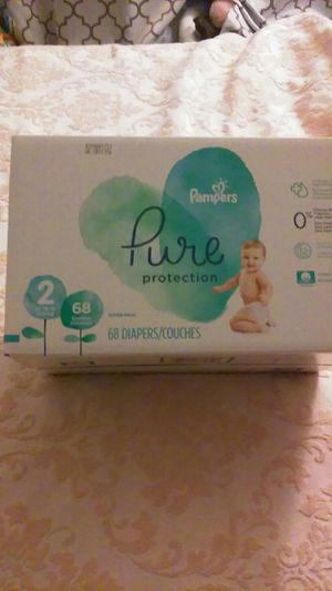Sz 2 Pampers Pure Protection diapers for Sale in Roselle, IL