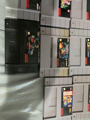 Super Nintendo lot bundle for Sale in Modesto, CA