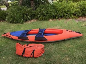 Sharper Image inflatable 2 person ocean kayak for Sale in Pompano Beach, FL