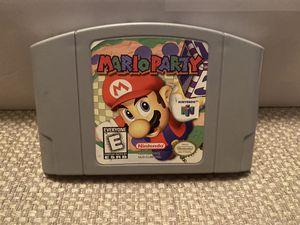 Nintendo 64 Mario Party Game for Sale in Elizabethton, TN