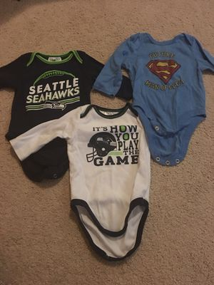 Baby Clothes 3-6 &6M - Like New - Baby Gap, Seahawks + for Sale in Snohomish, WA