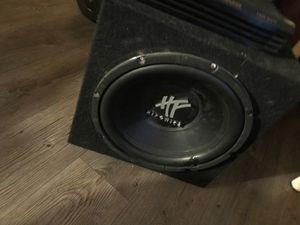 "12"" hifonics speaker for Sale in Las Vegas, NV"