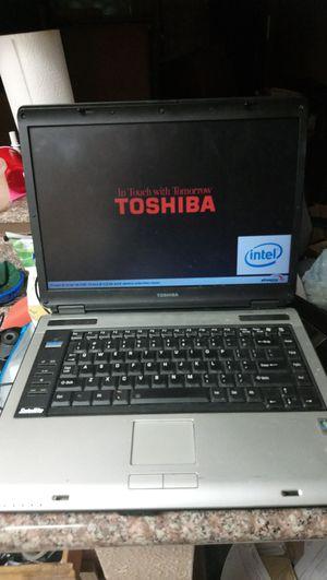 Toshiba Satellite laptop Windows Vista for Sale in Houston, TX