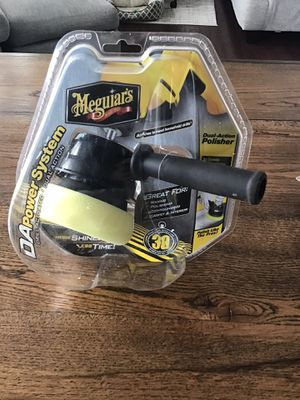 Meguiars Dual-Action Polisher (Drill Activated). Polishing, waxing, compound packs included for Sale in Charlotte, NC