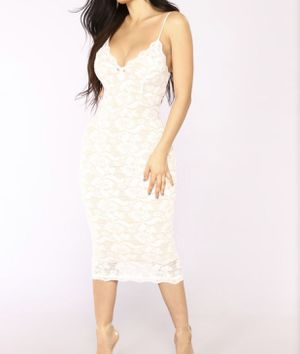 Brand new small white and nude dress for Sale in Littleton, CO