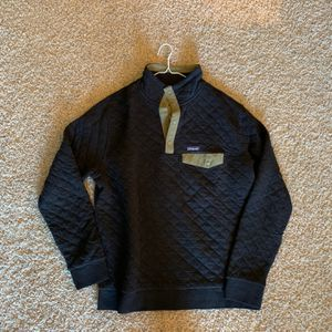 Patagonia Men's Cotton Quilt Snap-T Pullover - BLK-Black / XL for Sale in Manassas, VA