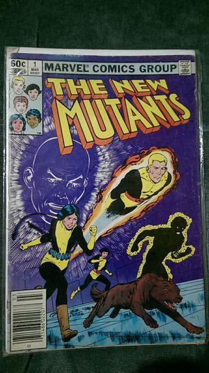 (Rare) 1962 The New Mutants Vol. 1 for Sale in Bono, AR