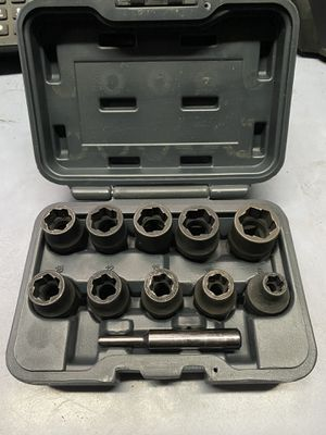 "Matco Tools 1/2"" drive metric hex grip socket set for Sale in Fresno, CA"