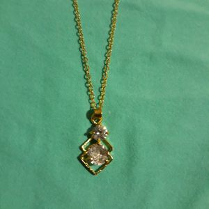 17 Inches Two Stones Necklace. for Sale in Dallas, TX