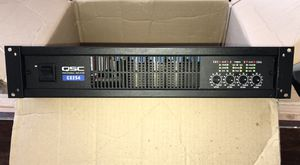 QSC 4-Channel Amplifier, with DSP processing, Indoor / Outdoor speakers for Sale in New York, NY