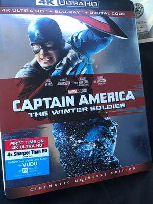 Captain America winter soldier 4K for Sale in Chino, CA