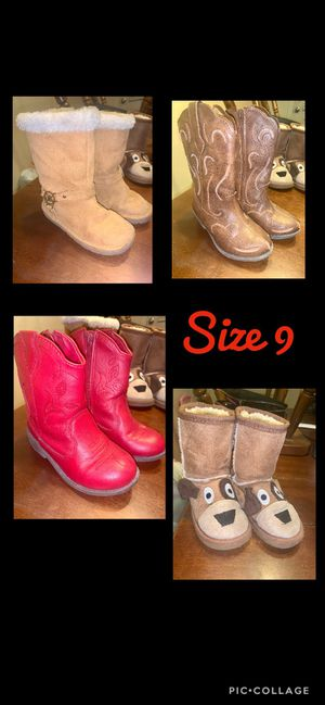 Girl boots for Sale in Odessa, TX