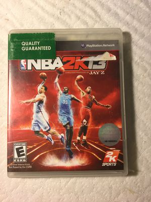 NBA 2k13 ps3 for Sale in Stockton, CA