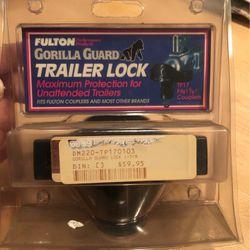 Gorilla Guard Trailer Lock for Sale in Yorba Linda,  CA