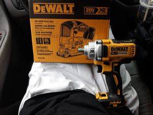New Dewalt 20v XR 1/2Inch Impact Wrench-DCF894 & JIGSAW-DCS334B for Sale in BETHEL, WA