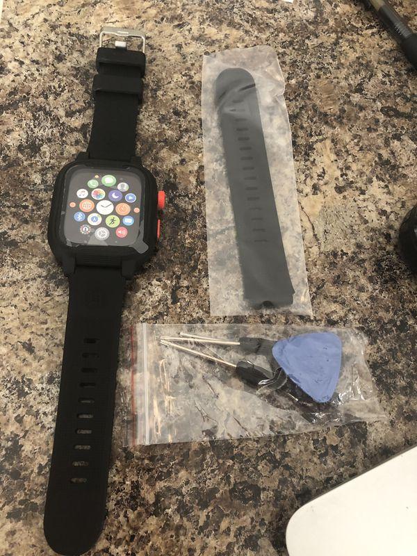 Case waterproof for Apple Watch series 4 case 44mm