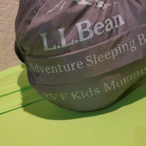 L.L.Bean Adventure Sleeping Bag 25 F Kids Mummy for Sale in Glendale, AZ