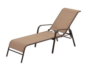 Hampton Bay Sling Outdoor Chaise Lounge Chair for Sale in Bethesda, MD