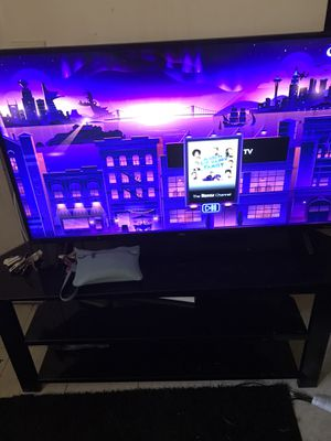 Tv and stand for Sale in Durham, NC