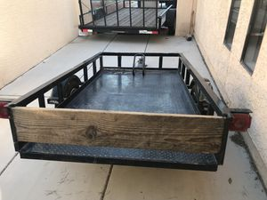 2010 tilt a trailer w/ NEW TIRES for Sale in Las Vegas, NV