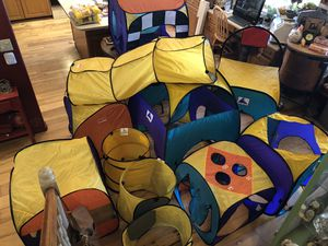 Playhut Huge Set Pop Up Play Tents and Games for Sale in Payson, AZ